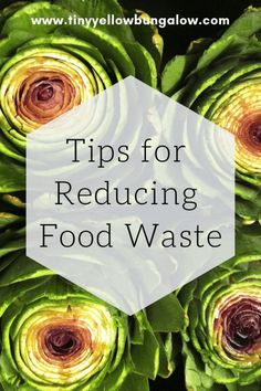 tips for reducing food waste - tiny yellow bungalow Waste Solutions, Eco Friendly Cleaning Products, Waste Reduction, Green Living Tips, Reduce Waste, Zero Waste, Think Food, Food Waste, Food Hacks