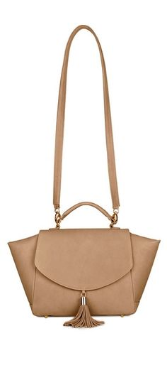Perfect, everyday neutral satchel.