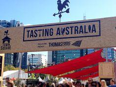 Fork on the Road at Tasting Australia 2014, Victoria Square.