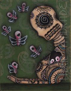 Original Abril Andrade Painting $124.00