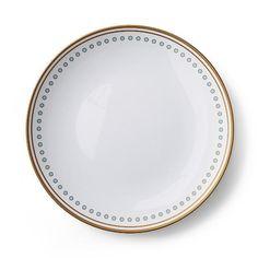 Donatella Capri Melamine Dinner Plates, Set of Four