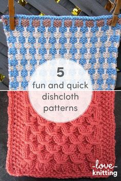 They're fun to knit, eco friendly, and you can match them to your kitchen! Head over to the LoveKnitting blog and get knitting!