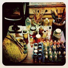 SUPERFICIALsnapshots: Frida Kahlo's Studio