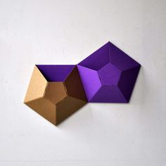 Wallpockets Purple Set Of 2 now featured on Fab. Not entirely sure what these are...