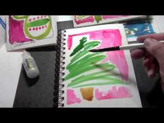 ▶ Artful Card-Making Techniques - Part 7 - Joanne Sharpe - YouTube