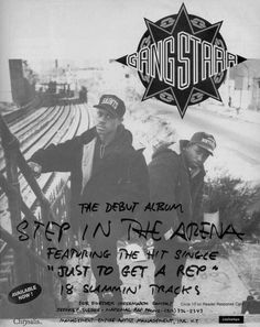 Gang Starr | 'Step In The Arena' | 1.15.91 | Chysalis