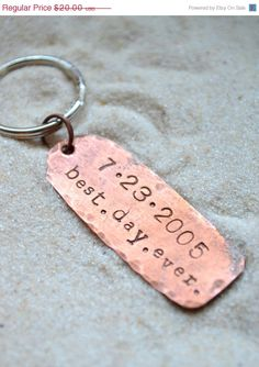 SALE Black Friday Sale Anniversary Keychain  by SailorStudio
