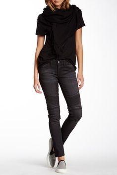 Hazel Moto Skinny Jean