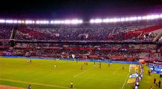 Estadio Monumental, River Plate Football Club, Buenos Aires, Argentina. Find more best places to watch the World Cup in Argentina: http://pin.it/TG9JpcY