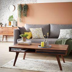 Table basse en palissandre vintage #zodio #table #décoration #vintage #palissandre #bois #tendance #terrazzo