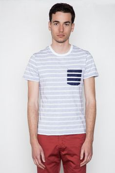 Reigning Champ - Contrast Pocket S/S Tee