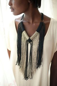 Covet This: Gorgeous Macramé Jewelry Straight From Haiti+#refinery29