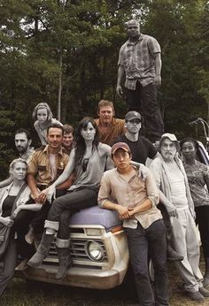 The Walking Dead.  Wow.  HOW are there only four of that original group left?