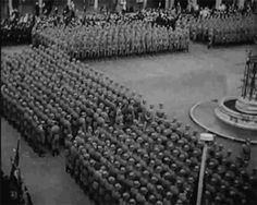 The new formed SS Freiwillige Legion Niederlande, with the first Dutch volunteers ,swearing the SS oath of allegiance to Hitler in July1941 before their departure to the Eastern Front.