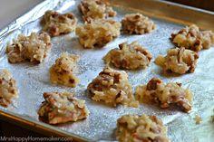 No Bake Praline Cookies - Mrs Happy Homemaker