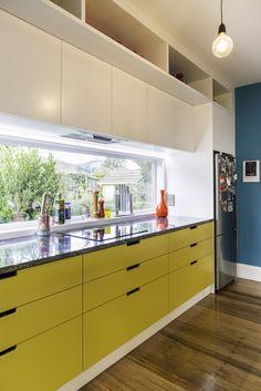 Home - Blue Scarlet Yellow Kitchen Cabinets, Bespoke Furniture, Colorful Furniture, Soft Furnishings, Scarlet, Custom Design, Interior Design, The Originals, Luxury