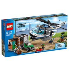 LEGO City Police Helicopter Surveillance Building Set 60046   To view  further for this item 531f4117c5