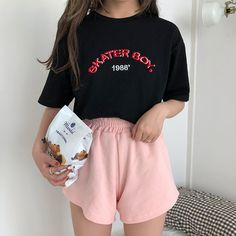 spring outfits for easter Spring Outfits, Trendy Outfits, Cute Outfits, Fashion Outfits, Womens Fashion, Black Outfits, Emo Outfits, Grunge Fashion, Look Fashion