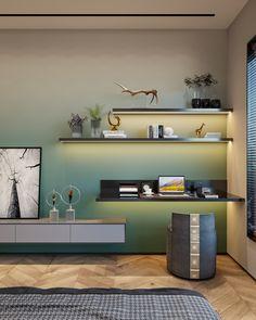 Tv Wall Design, Shelf Design, Ceiling Design, Villa Design, House Design, Interior Decorating, Interior Design, Living Room Tv, Visual Effects