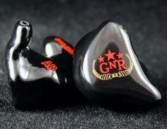 Custom in-ear monitors made for Axl Rose, Guns N Roses. #JHAudio