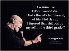 George Carlin Quotes Messages, Greetings and Wishes - Messages ...