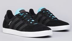 adidas Skateboarding Busenitz ADV | Black & Light Aqua