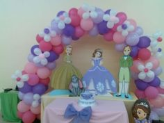 Sofia the First Birthday Party Ideas | Photo 1 of 19 | Catch My Party