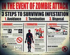 """Le autorità Usa smentiscono un' """"epidemia zombie"""""""