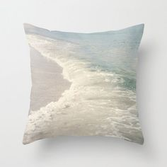 Turquoise Seas Pillow Cover