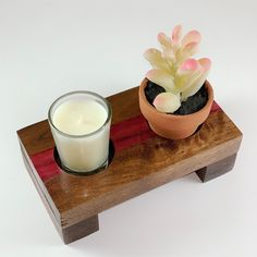 Mini KT Candle holder  #candleholders #candle #candles #handmade #handcrafted #homedecor #decor #homeaccents #homeinspiration #housewarminggift #gift #giftideas #interiordesign #lighting #forsale #sale #housewarmingpresent #woodworking #wooddecor #ryobiclan #diy #shopify #onlineshop #onlineshopping #woodworkerssource #ktcandlesandthings Handmade Candle Holders, Wood Candle Holders, Small Corner Table, Housewarming Present, Mini Candles, Plans, Color Splash, Christmas Gifts, Woodworking