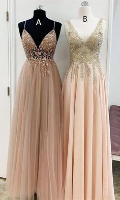 V Neck Champagne Long Party Dress from modseleystore Elegant V Neck Champagne Long Formal Dresses. Which one do you prefer?Elegant V Neck Champagne Long Formal Dresses. Which one do you prefer? Dresses Elegant, Women's Dresses, Beautiful Dresses, Long Dresses, Dresses Online, Dress Long, Fall Dresses, Summer Dresses, Awesome Dresses