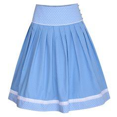 Rock Franzi in Hellblau von Country Line I 60 cm Cheer Skirts, Rock, Fashion, Skirts, Bodice, Light Blue, Fall Winter, Dirndl, Amazing