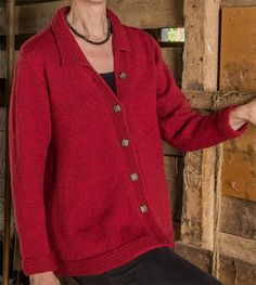 Basix 101 Concord Top-Down Swing Coat PDF in New Knitting Patterns at Webs Ladies Cardigan Knitting Patterns, Knit Cardigan Pattern, Knitting Patterns Free, Free Knitting, Knitting Ideas, Crocheting Patterns, Knitting Sweaters, Knitting Stitches, Knit Patterns