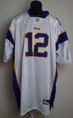fdbdc088d Minnesota Vikings  12 Percy Harvin Purple size 60 4XL Jerseys NWT  Reebok   MinnesotaVikings