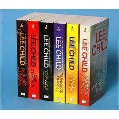 Lee Child's Jack Reacher Series -- love it!