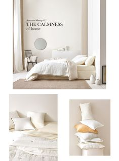 The latest trends in bedroom textiles at Zara Home. Quality bed linen, rugs, curtains and cushions in this season´s colours. Linen Bedroom, Home Bedroom, Linen Bedding, Bed Linens, Bedrooms, Zara Home Australia, Bed Linen Australia, Zara Home Brasil, Black Bed Linen