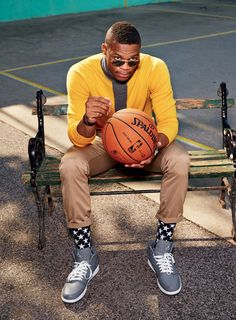 Russell Westbrook pour GQ