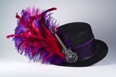 Rock 'n roll mini top hat