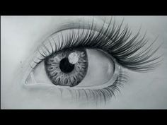 How to draw realistic eyes easy step by step | Art Drawing Tutorial