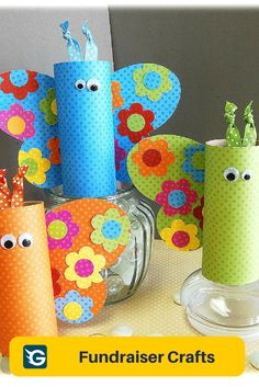 10 Spring Kids Crafts Fundraiser