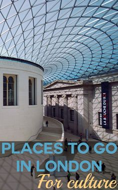 The British Museum, London, UK. One of our favourite places to visit in London for culture. Our comprehensive London travel guide includes the Tower of London, Buckingham Palace, galleries, museums, shopping, London's top restaurants and the best places to stay.