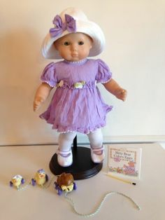 829ea5feb3 American Girl Bitty Baby Doll 2001 Springtime Set Outfit