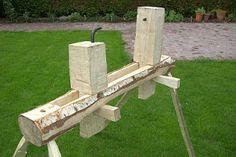 roundwood pole lathe