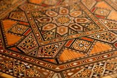 Moroccan table top