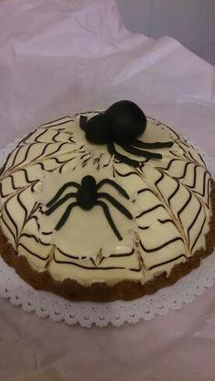 Torta halloween con ragni