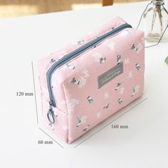 Iconic Comely pattern makeup pouch bag - fallindesign.com Home Office 0bf42a27533be