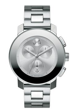 Same as the other watch but in silver color.