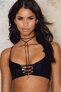 6718a258271 Neva Bikini Top Black Bikini Tops, Bikini Bottoms, Swimsuits, Bikinis,  Swimwear,