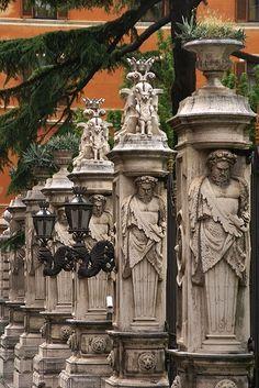 Roma - Via delle Quattro Fontane