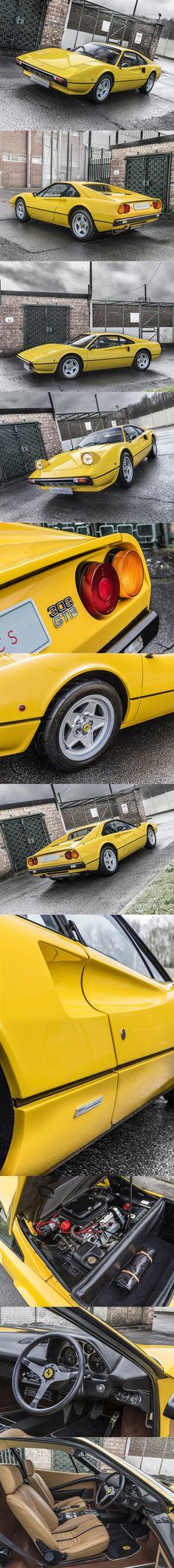 1976 Ferrari 308 GTB Vetroresina / Pininfarina Leonardo Fioravanti / 252 hp / 808 produced / glass-reinforced plastic / Italy / yellow